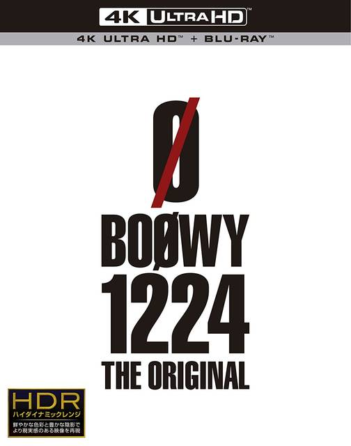 Amazon.co.jp | 1224 -THE ORIGINAL-(限定盤)(Ultra HD Blu-ray+Blu-ray) DVD・ブルーレイ - BOφWY (1944126)
