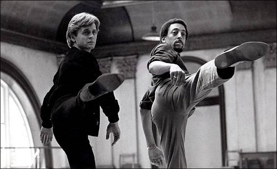 "gregory+hines+dancing+mikhail+dancing | Mikhail Baryshnikov and Gregory Hines in ""White Nights,"" a 1985 film ... 