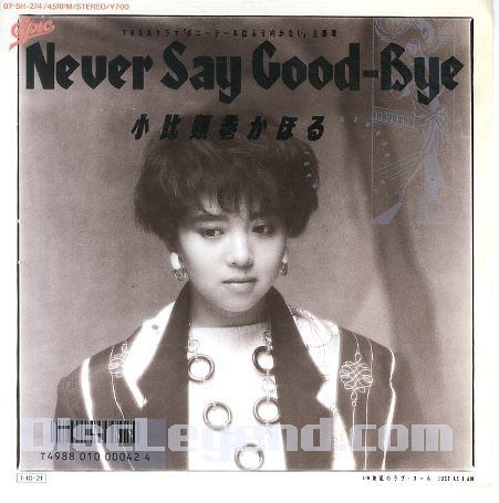1985年、シングル「Never Say Good-B...