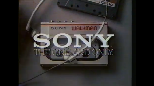 SoundWorks Collection - 1983 Sony Walkman Commercial (1529262)