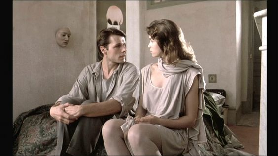 Lambert Wilson &  ヴァレリー・カプリスキー // 『私生活のない女』 - La Femme publique / The Public Woman (1984) | faces | Pinterest | Public and The O'jays (1684040)