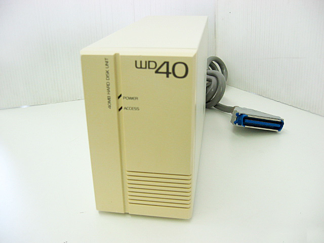 PC98専用外付けHDD  WD-40