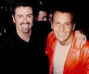 George Michael established a relationship with Anselmo Feleppa, a male Brazilian dress-designer, whom he had met at the 1991 concert Rock in Rio. S… | ジョージ・マイケルPinteres… (1701830)