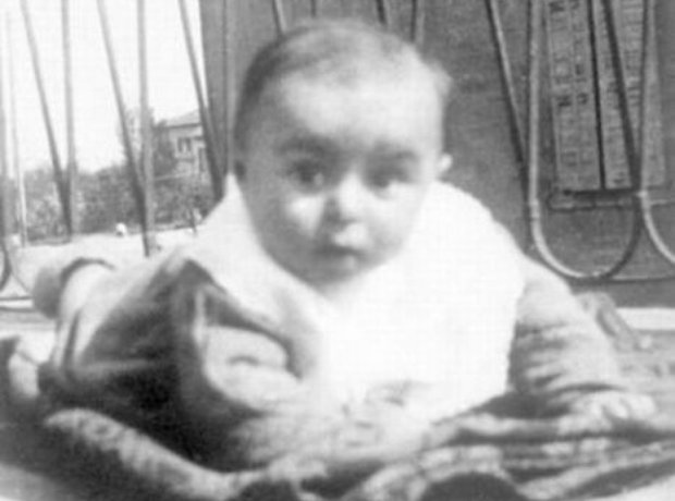 Luciano Pavarotti as a baby - 1935 | Luciano Pavarotti - 15 facts you never knew about the great tenor - Pictures, Classic FM (1668494)