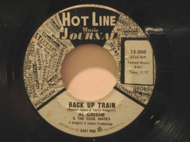 Al Green Back Up Train Records, LPs, Vinyl and CDs - MusicStack (1874929)