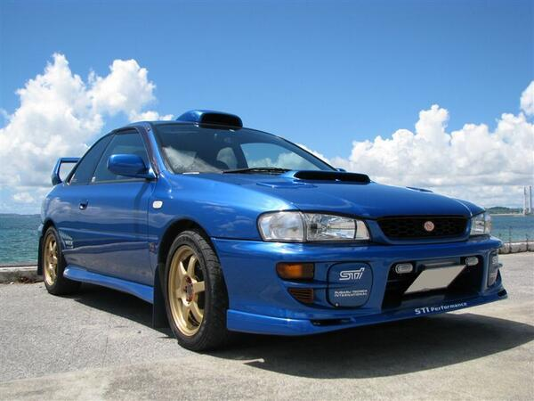 GC8 インプレッサ WRX STi Version V