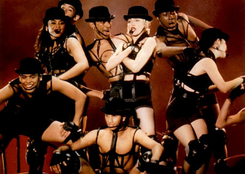 Vogue Era | Madonna and her fabulous backup dancers wearing... (1755855)