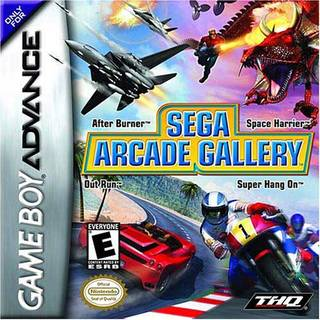 Amazon | Sega Arcade Gallery: Was Yu Suzuki Pack / Game | Thq Inc | ゲームボーイアドバンス 通販 (1909225)